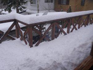 Snow full of decks