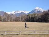 農場からの八ヶ岳