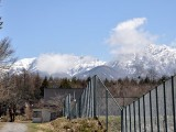 村営テニス場からの八ヶ岳