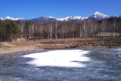 凍結のまるやち湖